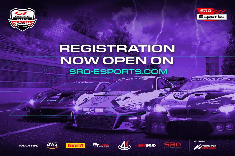 SRO E-sports - GT World Challenge Esports registration now open